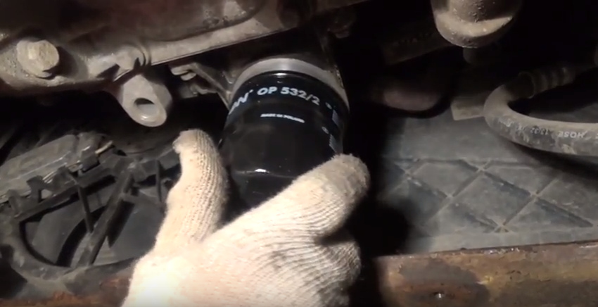 замена масла в двигателе Ford Focus II