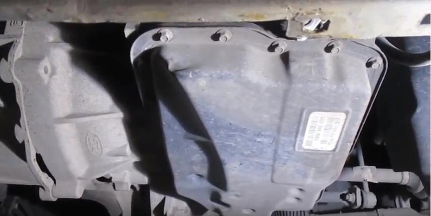 Замена масла в АКПП Ford Focus II